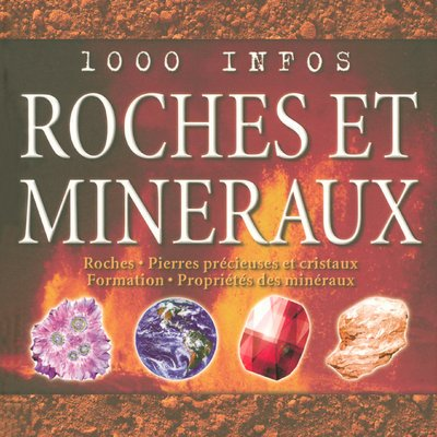 1000 INFOS ROCHES & MINERAUX par CHRIS PELLANT