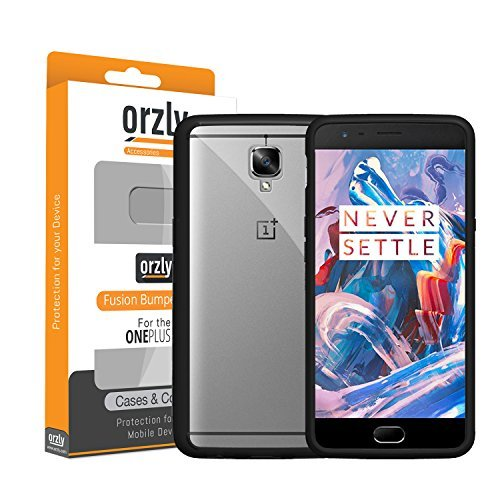 orzly Fusion Bumper Case Shell for OnePlus 3 (Original 2016...