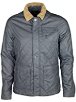 MENS NEW CROSSHATCH PROJECT JACKET IN NAVY COLOUR REDUCED TO CLEAR ONLY £19.99