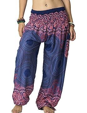 Kootk Pantaloni Hippy Yoga Pantaloni per Donna e Donna 10 colori (Codice Medio)