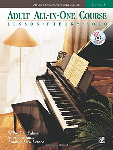 Alfred Adult All in One 3 Pf Bk/CD +CD (Alfred's Basic Adult Piano Course)