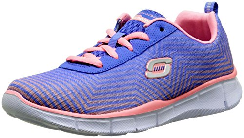 Skechers Equalizer Expect Miracles, Baskets Basses fille Rose (Mauve/Rose)