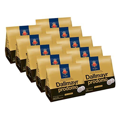Dallmayr Prodomo Kaffeepads, für alle Pad Maschinen, Röstkaffee, Spezialveredelt, 160 Pads, á 7 g