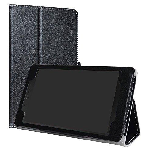 LiuShan Lenovo Tab 4 7 Essential hülle, Folding PU Leder Tasche Hülle Case mit Ständer für 7.0