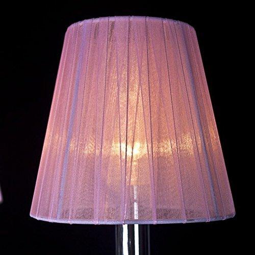 CNMKLM Pink Princess Crystal Room Pendelleuchte Romantische süße Mädchen im Zimmer Schlafzimmer Pendelleuchte Pendelleuchten Kronleuchter -
