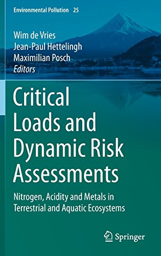 Critical Loads and Dynamic Risk Assessments: Nitrogen, Acidity and Metals in Terrestrial and Aquatic Ecosystems (Environmental Pollution) by Wim de Vries (Editor), Jean-Paul Hettelingh (Editor), Maximilian Posch (Editor) (31-May-2015) Hardcover