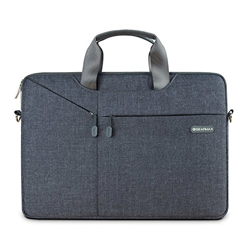 WIWU Wasserdichte Nylon Laptop Aktentasche für MacBook Air / Pro Retina 15 Zoll Oxford Sleeve / Surface Book / Ultrabooks bis 15,6