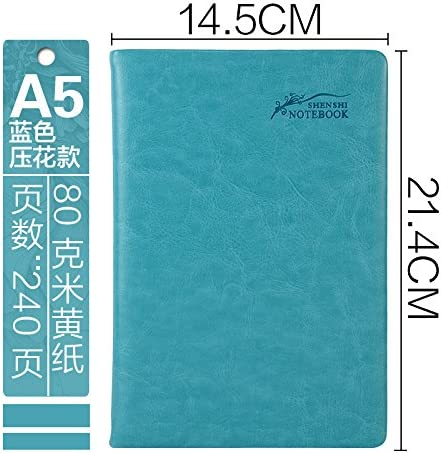 XIAOLI& Cahier Journal Papeterie Remarque A5 Épaissir Épaissir Épaissir Office Commerce, sky Bleu  book B07DHNBQJN | En Vente  3cf479