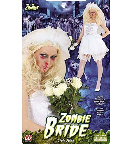 Imagen de widmann 87241  disfraz de novia zombie para mujer talla s  alternativa