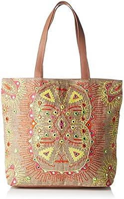 Antik Batik Hudson - Bolso de tela para mujer multicolor Multicolor (Multico) 15x37x43 cm (W x H x L)