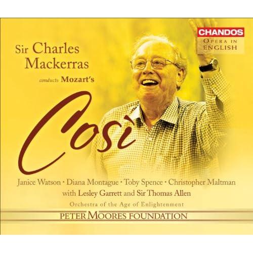 Mozart, W.A.: Cosi Fan Tutte (Sung in English)