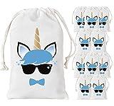 Kreatwow Unicorno Party Favore Borse per Bambini Birthday Party Supplies 12 Pack