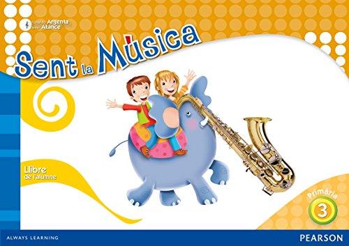 Sent la música 3 libre de l'alumne (Comunitat Valenciana) (Siente la Música) - 9788420559476