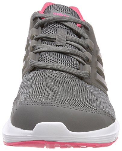 adidas Galaxy 4 W, Chaussures de Running Femme Gris (Grey Four F17/real Pink S18)