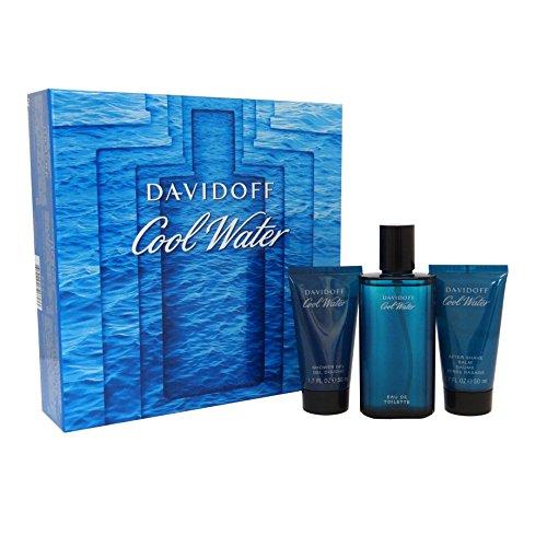Davidoff Cool Water Eau de cologne + Shower Gel + Aftershave – 1 Pack