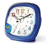 SET: Kinderwecker + Armbanduhr Jungen Blau Analog Ohne Ticken Lernwecker Licht Snooze Kinderuhr - Atlanta 1736-5 KAU hergestellt von Atlanta