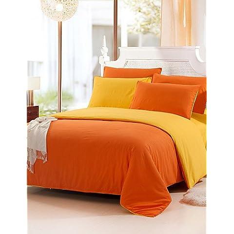 XP HOME tencel modal de la tela de satén jacquard camas habitación de la boda 4 piezas juego de cama 1.5m-1.8m / 2.0m cama , queen-light brown , queen-light