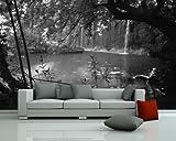 Bilderdepot24 selbstklebende Fototapete 'Wasserfall' 230x150 cm - direkt vom Hersteller