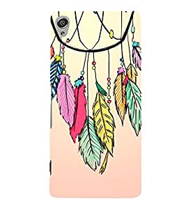 Fuson Designer Back Case Cover for Sony Xperia XA :: Sony Xperia XA Dual ( Ethnic Pattern Patterns Floral Decorative Abstact Love Lovely Beauty )