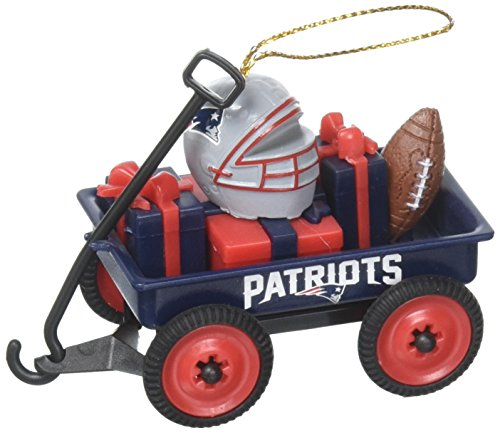 Team Sport Amerika 3ot3818wgn New England Patriots Team Wagon Ornament
