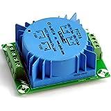 ELECTRONICS-SALON 1pcs 15VA encapsulado transformador toroidal 115/230V, 18Vx2