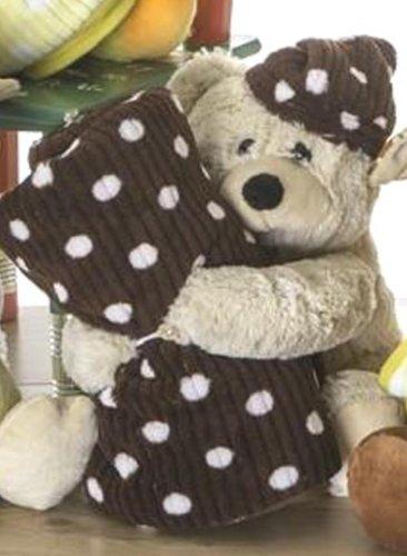Niedlicher Teddy-Bär/ Kuscheltier mit Schmusedecke / Kuscheldecke 80x120