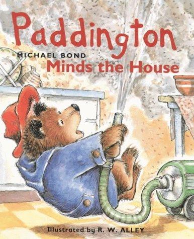 Paddington Little Library - Paddington Minds the House by Michael Bond (6-Apr-1999) Hardcover