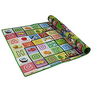 Bluelover 180 X 120 Große Baby Spiel Krabbeln Spielen Mat Kinder Alphabet Entwicklung Aktivität Teppich