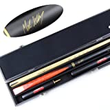 BCE Mark Selby 4 Signature Series Snooker Queue mit 15,2 cm & 30,5 cm EXT & Hard Case