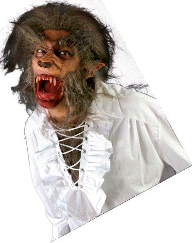 (Latex Applikation Werwolf Schnauze Maskierung zu Halloween Karneval)