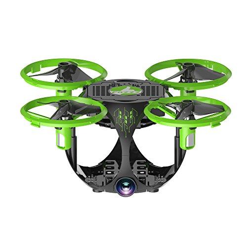 FQ777 FQ26 Mini Drone Plegable WiFi FPV Drone 6 Gyro del Eje Altitud mantemiento G-Sensor con Cámara de 0.3MP 3D voltea Control de Aplicación RTF RC Drone