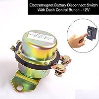 12V batterie terminal commutateur switch bouton contrôle sur dash voiture connexion interrupteur électromagnétique solénoïde - relais de verrouillage