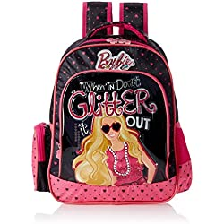 Barbie Pink and Black Children's Backpack (Age group :3-5 yrs)
