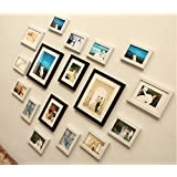 PPD Heart Shape 17pcs/set Wooden Photo Frame , Wall Hanging Photo Frame By Paper Plane Design (Mix)