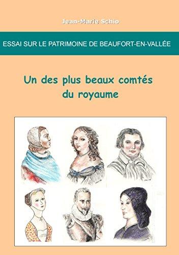 Essai sur le patrimoine de Beaufort-en-Vallee : un des plus beaux comtes du royaume par Jean-Marie Schio
