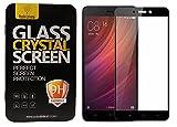 Parallel Universe Original Xiaomi Redmi 4 Tempered Glass Screen Protector 3D Curved Edge to Edge - Black