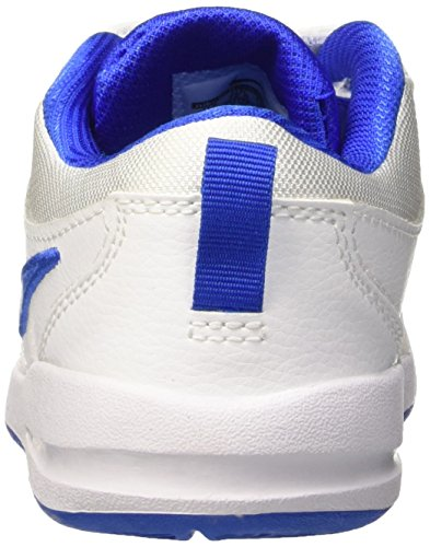 Nike Pico 4 PSV Scarpe Sportive, Bambino Bianco (White/Hyper Cobalt)
