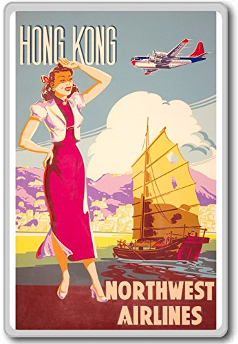 hong-kong-northwest-airlines-vintage-travel-aviation-fridge-magnet-kuhlschrankmagnet