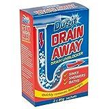 Duzzit Drain Away - 3 x 40g Sachets