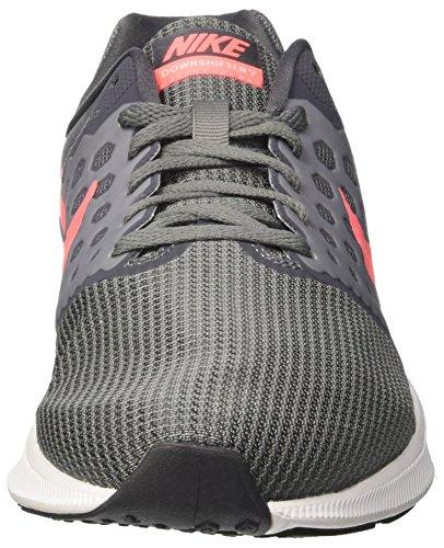 Nike Wmns Downshifter 7 Wide, Scarpe Running Donna Grigio (Cool Grey/Lava Glow/Dark Grey/White)