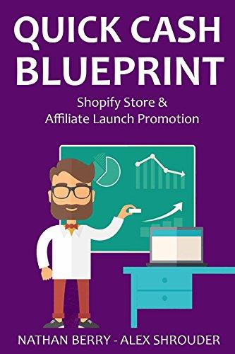 Quick Cash Blueprint: Shopify Store Creation & Affiliate Launch Promotion (English Edition)
