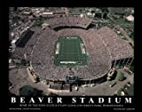 (8x10) Mike Smith Penn State Nittany Lions Beaver Stadium NCAA Sports Poster Print by Poster Revolution