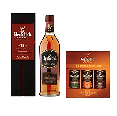 Glenfiddich The Family Collection Father's Day Ultimate Collection By Moreton Gifts