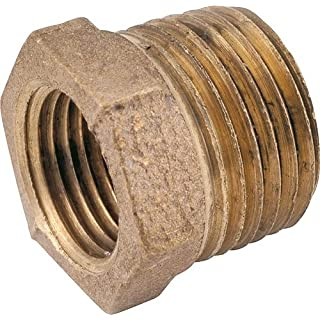 Anderson Metals Corp Inc 738110-1204 Red Brass Hex Reducing Bushing