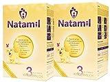 Natamil 3, Kindermilchnahrung, ab dem 12. Monat, 2er Pack (2 x 800 g)