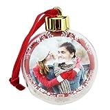 Christbaumkugeln transparent mit Foto - Weihnachtsbaum Kugel selbst gestalten - Weihnachtsschmuck mit Foto - Christbaumschmuck transparent personalisieren