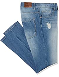 United Colors of Benetton Boy's Relaxed Fit Jeans