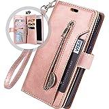 Hnzxy Kompatibel mit Samsung Galaxy A6 Plus 2018 Hülle,PU Leder Tasche Flip Case Cover Handyhülle...