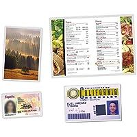 Makro Paper 90130/220200 - Plástico para plastificar media, caja con 100 unidades,