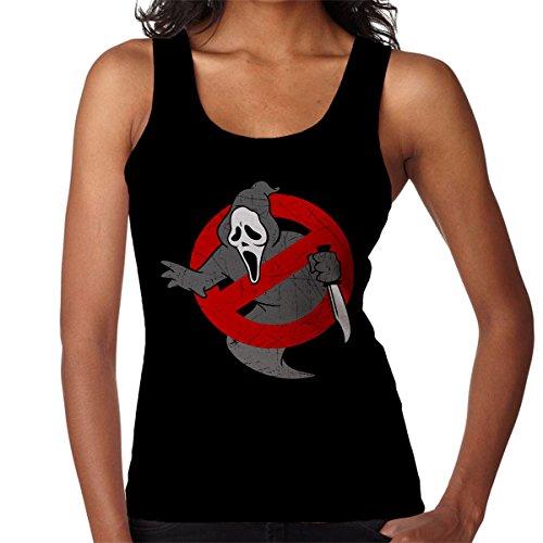 Ghostbusters Scream Mashup Women's Vest